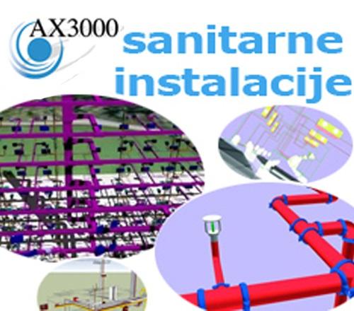 AX3000 modul za sanitarne instalacije
