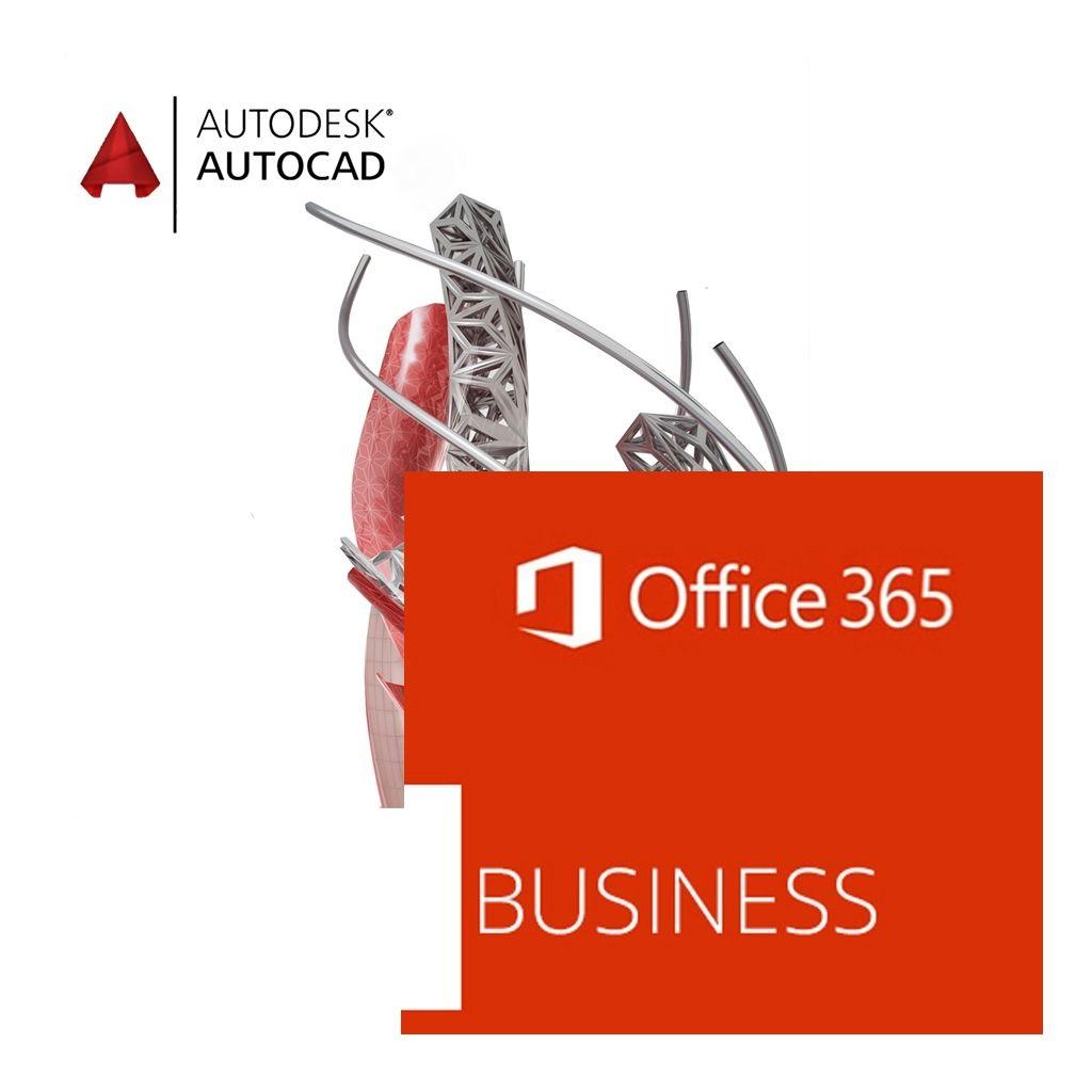 AutoCAD + Office 365 - godišnji najam
