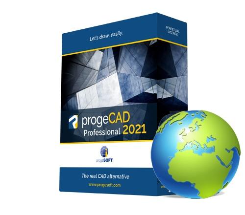 progeCAD 2021 2D/3D Professional - državna licenca
