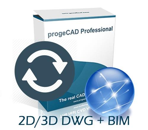 progeCAD 2021 2D/3D Professional NLM - sa starih verzija NLM