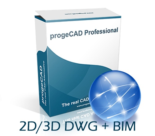progeCAD 2020 2D/3D Professional NLM - mrežna licenca