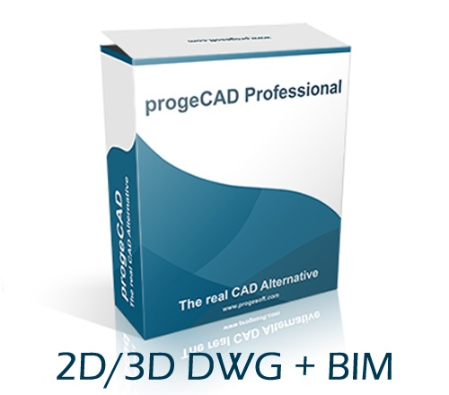 progeCAD DWG BIM 2D 3D