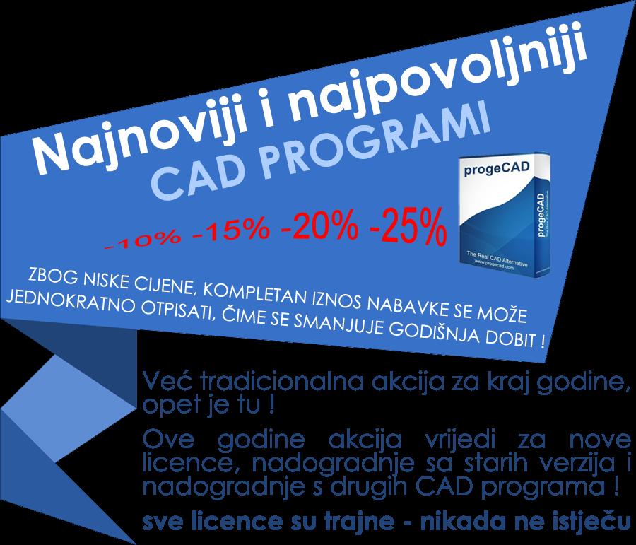 06.12.2018.   progeCAD akcija za kraj godine - veliki popusti do 21.12.