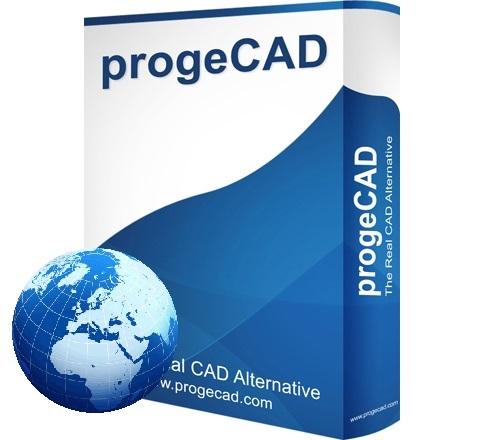 progeCAD 2D/3D Professional 2018 - lokacijska licenca