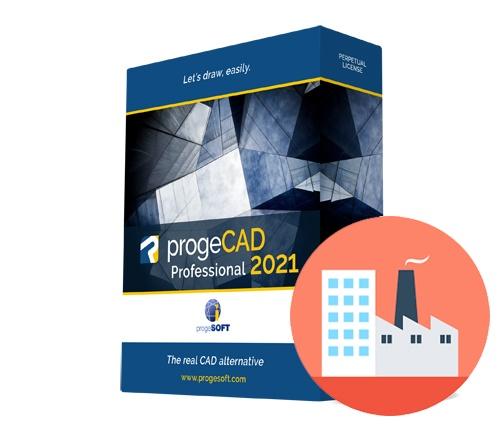 progeCAD 2021 2D/3D Professional - lokacijska licenca